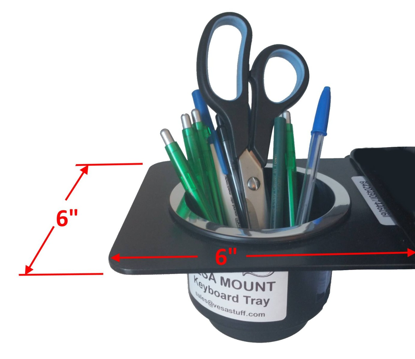 VESA Mount Tray Cup Holder