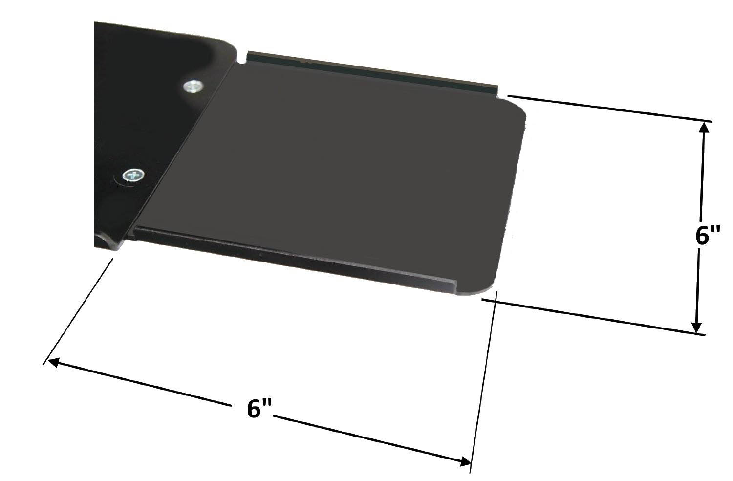 VESA Mount Mouse Extension Tray