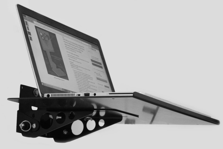 Sds Vesa Mount Wall Mount Locking Tilt And Fold Laptop