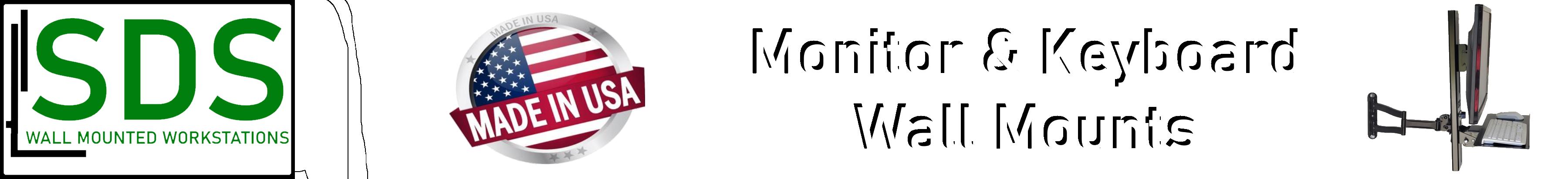 VESA Monitor & Keyboard Workstations by SDS